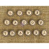Words #1 - Love, Travel & Laugh