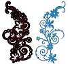 Crafts-Too Die Cutting & Embossing stencil - Little Weed CTDI7007