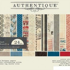 Authentique Paper Pack Pad - Abroad 6 x 6