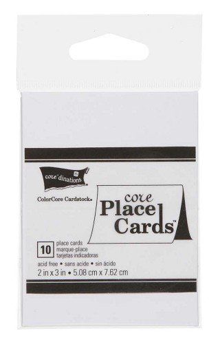 Place card Tags