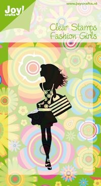 Joy!Crafts stempel fashion girls