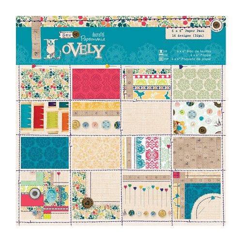 6 x 6 Paper Pack (32pk) - Sew Lovely