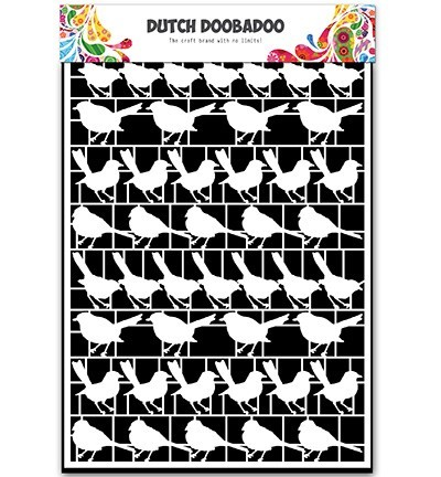 Dutch Doobadoo - Paper Art A5 - Birds