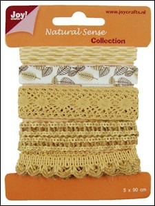 Joy! Crafts - Clear Stamps - Ribbons Natural Sense Collection 1 - set 2