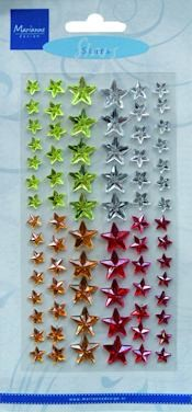 Decoration stars winter - Marianne Design