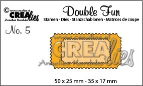 Crealies - Double Fun no.5 Tickets