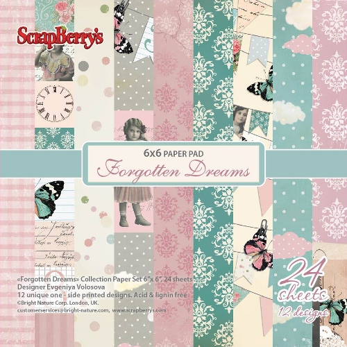Forgotten Dreams Paper set 24 sheets 6*6