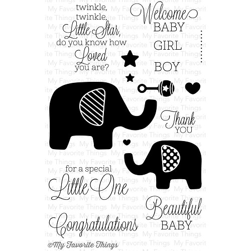 MFT stempel - Beautiful Baby