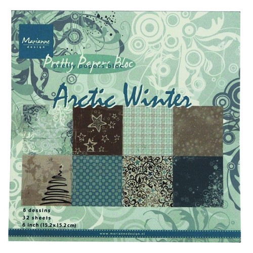 Pretty Papers bloc - Artic Winter