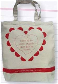 Canvas DIY bag 37 x 40 cm om zelf te decoreren