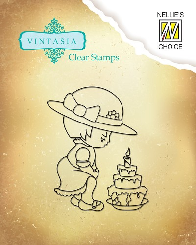 Clear stamps Vintasia Sugary Party
