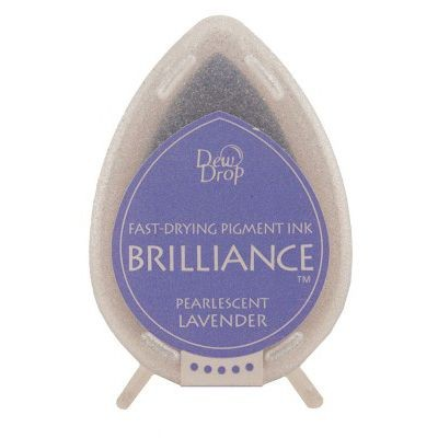 Brilliance Dew Drops inkpads Pearlescent Lavender