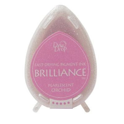 Brilliance Dew Drops inkpads Pearlescent Orchid