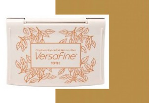 Inkpads Versafine Toffee