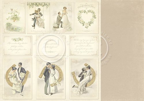 Pion Design - wedding scrappapier - complete collectie