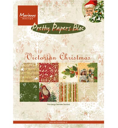 Marianne Design Pretty Papers - A5 Victorian Christmas