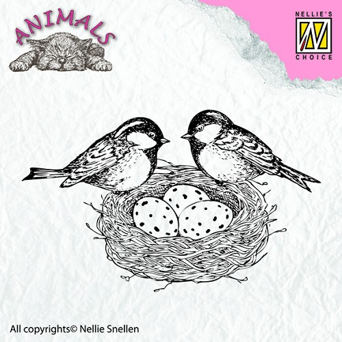 Clear stamps - Animals - Birdsnest
