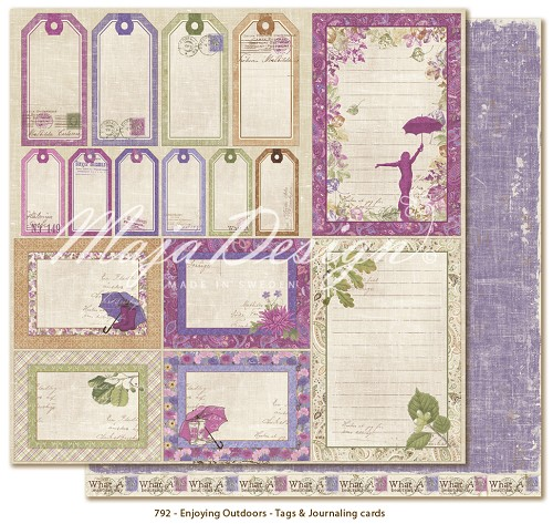 Maja Design - Enjoying Outdoors scrappapier 30x30