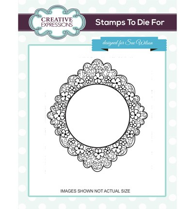 Creative Expressions - Stamps To Die For - Tumbling Leaves