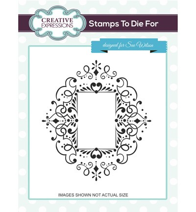 Creative Expressions - Stamps To Die For - Corinthiun Scroll