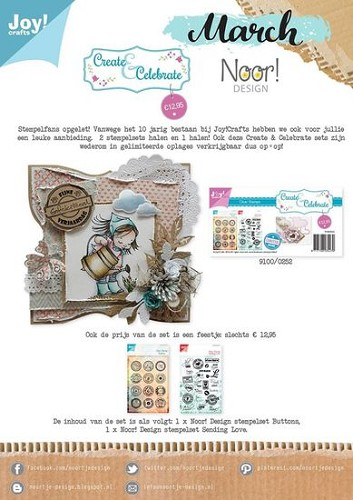 Create & Celebrate - Limited Edition - Clearstamps (2st)