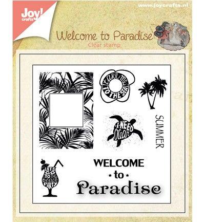 Joy Crafts - Algemeen - Welcome to paradise