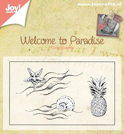 Joy Crafts - Algemeen - Welcome to paradise klein