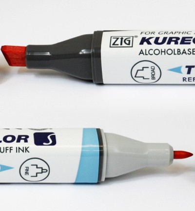 Alcohol Marker Twin S - ZIG - Carmine Red