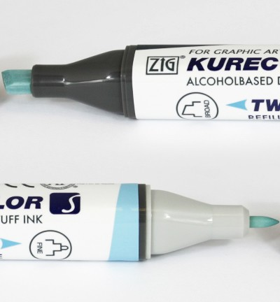 Alcohol Marker Twin S - ZIG - Alice Blue