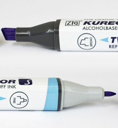 Alcohol Marker Twin S - ZIG - Lilac