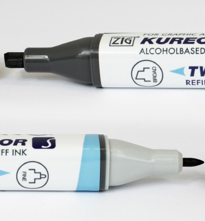 Alcohol Marker Twin S - ZIG - Blue Gray 3