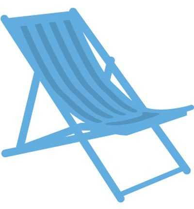 Marianne Design - Creatables - Deck chair