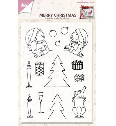 Joy Crafts - Stempels-Merry xmas by antoinette
