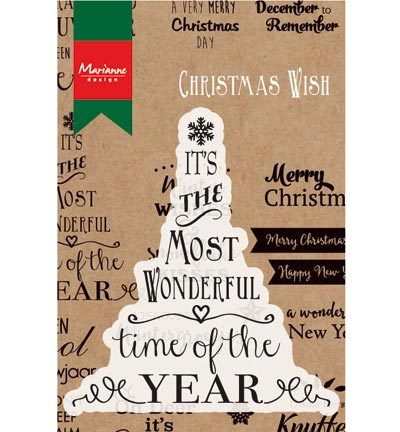 Marianne Design - Teksten - Most wonderful time of the year