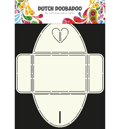 Dutch DooBaDoo - Dutch Envelop Art - Envelope Art Heart
