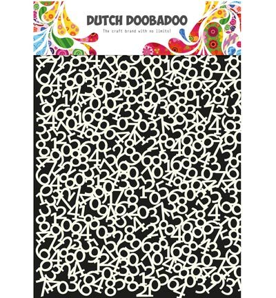 Dutch DooBaDoo - Dutch Mask Art - Mask Art Numbers 3