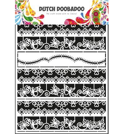 Dutch DooBaDoo - Dutch Paper Art - Paper Art Borders 2