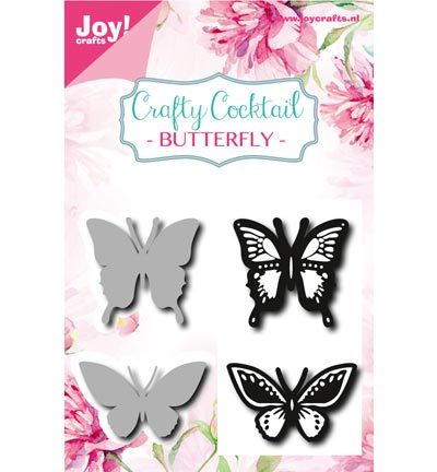 Joy Crafts - Stamp + Stencil - Vlinders