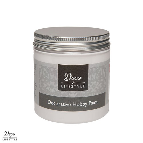 decorative hobby paint cotton white