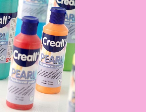creall pearl pearlescent pink