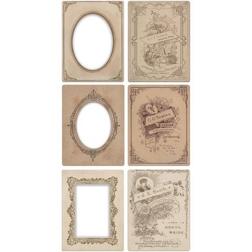 Tim Holtz Idea-ology Mini Cabinet Card Frames