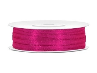 satijn lint 3mm fuchsia
