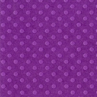 Bazzill Dotted Swiss Cardstock - Plum Pudding