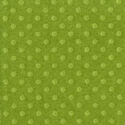 Bazzill Dotted Swiss Cardstock - Clover Leaf