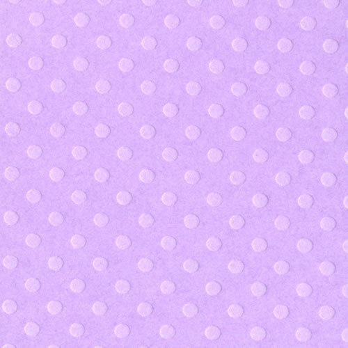 Bazzill Dotted Swiss Cardstock - Berry Pretty
