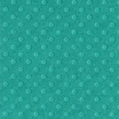 Bazzill Dotted Swiss Cardstock - Deep Sea
