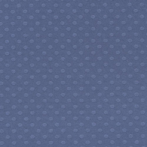 Bazzill Dotted Swiss Cardstock - Night Water