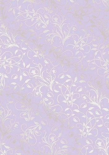 Cart-Us foliekarton - Leaves Lilac