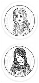 Marianne Design - Cling Stamp Girls