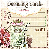 Journaling card set - 18 premium cards